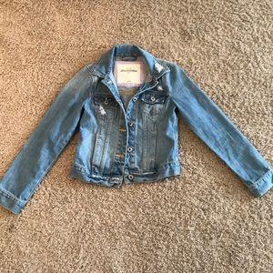Abercrombie kids jean jacket